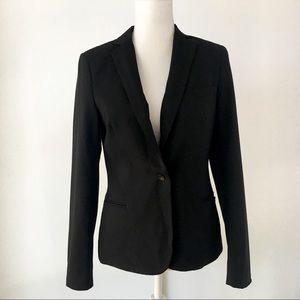 Maison Scotch black lightweight blazer jacket 2